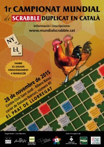 cartell 1r Mundial Duplicat 2015 el Prat Manacor