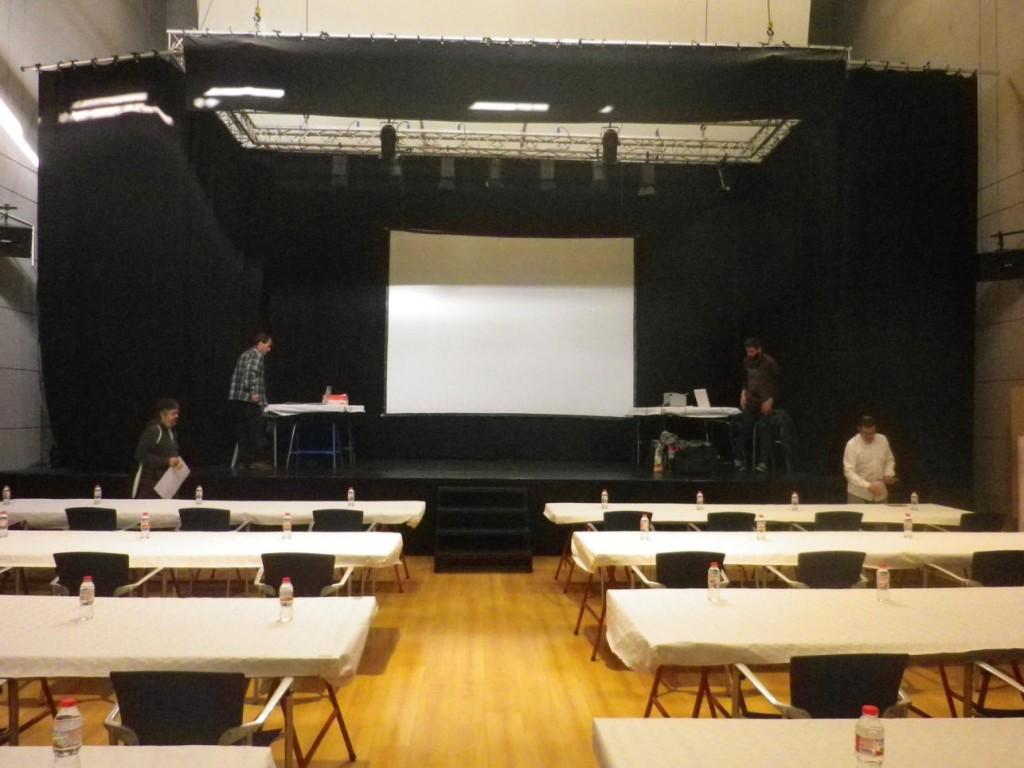 El Prat: preparant les taules
