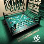 Cartell del 7è Campionat Mundial de Scrabble en català
